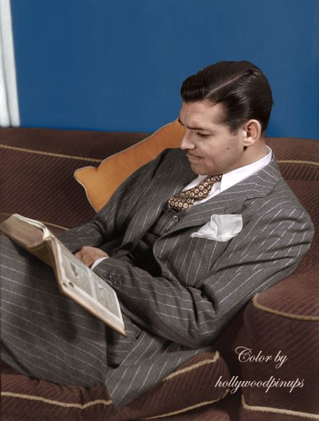 "Clark Gable: the ""King of Hollywood"""
