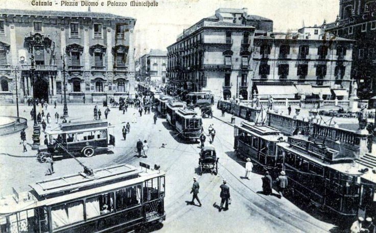 Nitido scorcio degli anni Sessanta di una raggiante #Catania
