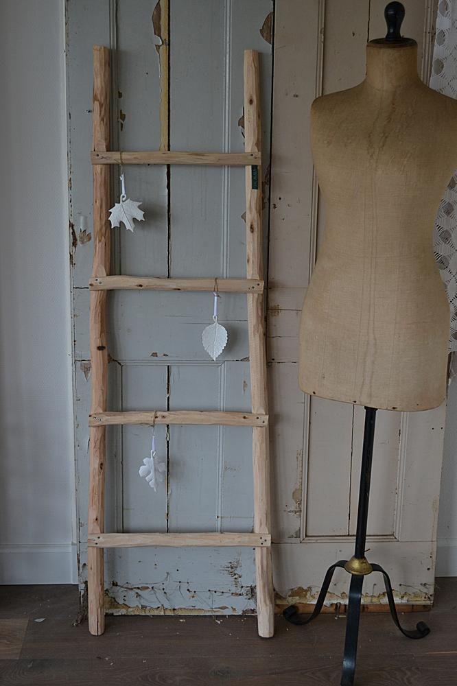 25 beste idee n over houten ladder inrichting op pinterest houten ladders houten ladder en - Houten interieurdecoratie ...