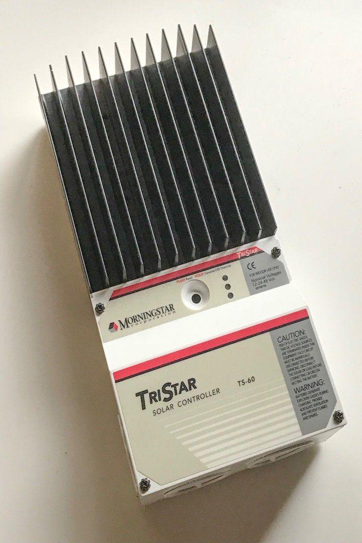 Morningstar Tristar Ts 60 Solar Panel Battery Charge Controller Solar Panel Battery Solar Panels Battery Charge Controllers