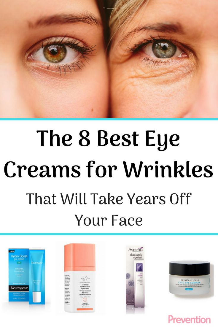 The Most Effective Eye Creams To Smooth Wrinkles And Take Years Off Your Face Under Eye Wrinkles Smooth Wrinkles Best Under Eye Cream