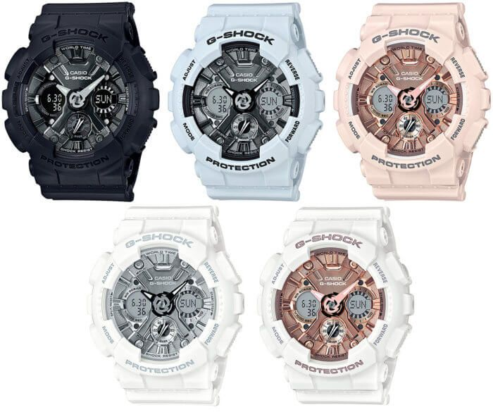 G-Shock GMA-S120MF Metallic Face: New S Series Watch