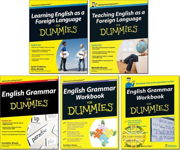 E-Books for Learners & Teachers of English: English for Dummies