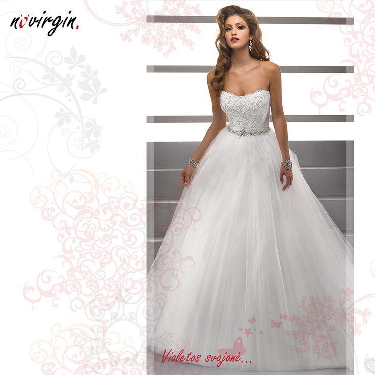 Violetos vestuvinė suknelė / Wedding dress for Violeta
