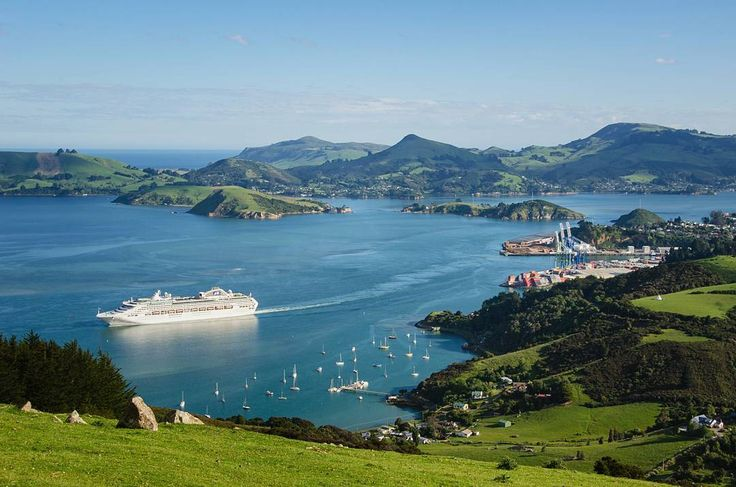 PORT CHALMERS.   Dunedin.   Otago Harbour, New Zealand Instagram photo by @port_chalmers •