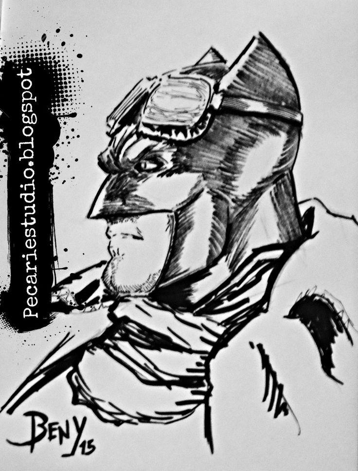 #FanArt,#Batman,#Superheroe, #Cómic
