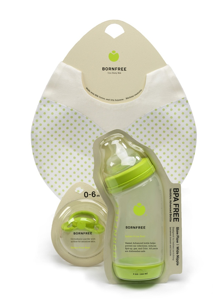 baby product packaging by LIly Hu Design