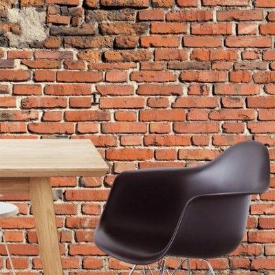 http://www.behangmijnwoning.nl/wallpower-rhythm-330057.html Posterbehang van de beste kwaliteit, net echt een stenen muur!