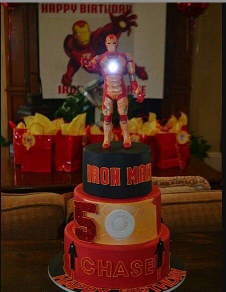 Iron Man, cake idea!