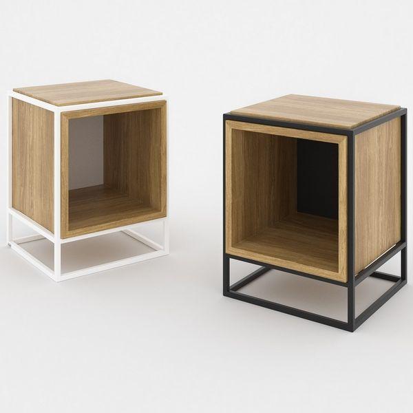 Table D Appoint Scandinave Cube De Rangement Bout De Canape Design Idees De Meubles Mobilier De Salon