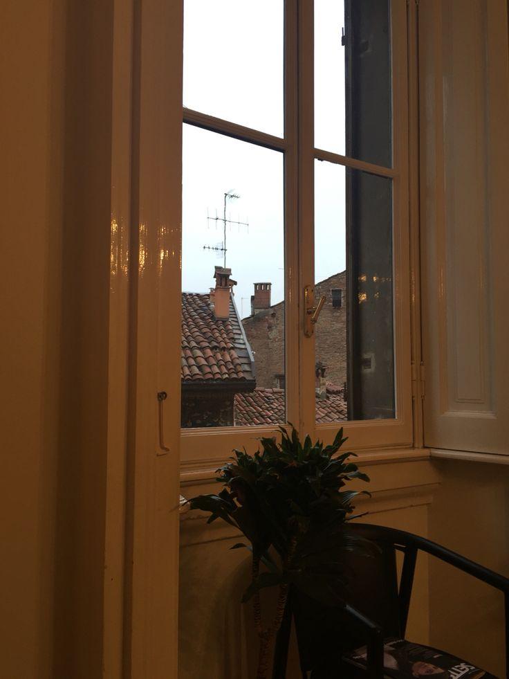 Interno,tetti bolognesi