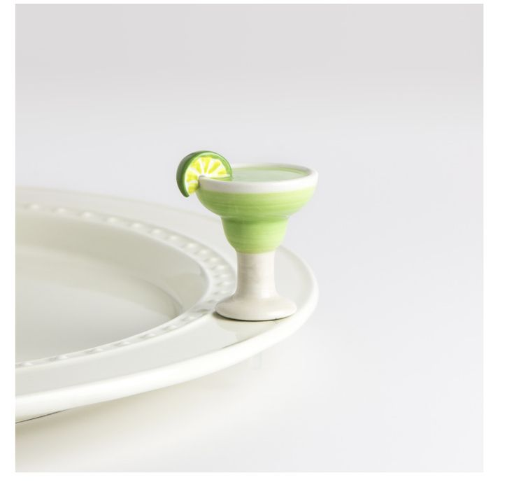 Nora Fleming Margarita Mini Cinco De Mayo Cocktail Ceramic