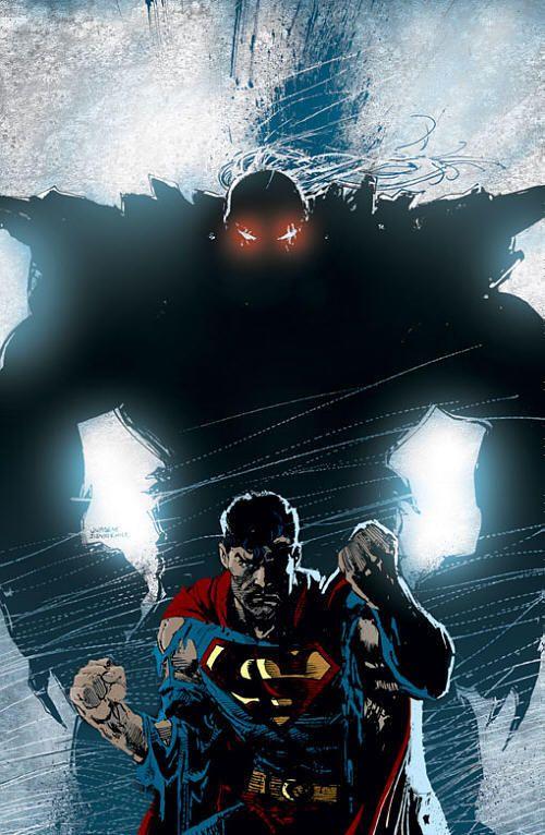 Doomsday/Superman Silhouette