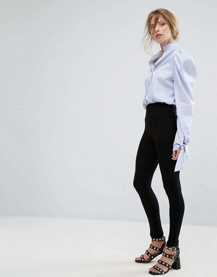 Get this Mango's basic leggings now! Click for more details. Worldwide shipping. Mango Legging - Black: Leggings by Mango, Smooth stretch fabric, High waist, Elasticated waistband, Close-cut bodycon fit, Machine wash, 70% Viscose, 25% Polyamide, 5% Elastane, Our model wears a UK S/EU S/US XS and is 174cm/5'8.5 tall. Combining timeless style with fashion forward designs, Barcelona-born Mango are renowned for bringing their European touch to statement dresses and tailored garments. Simple…