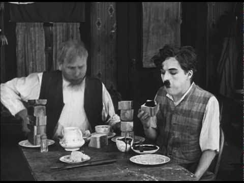 Charlie Chaplin - Breakfast at Hotel Evergreen   Working at the hotel, Charlie has to prepare the rooms (mowing the grass there!) and make breakfast for his boss and himself. A hilarious scene from a classic Chaplin movie.