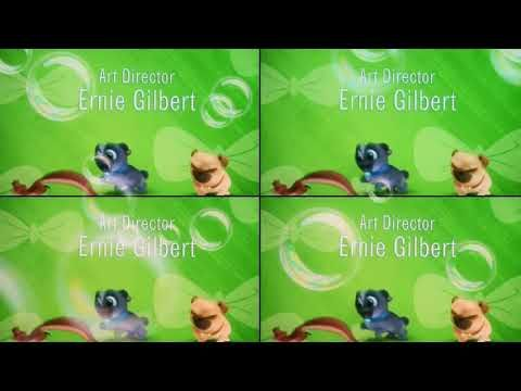 Puppy Dog Pals End Credits Colorful 4 Screens Youtube Dogs And
