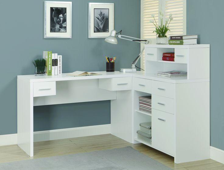 17 best ideas about Modern L Shaped Desk on Pinterest  L desk L