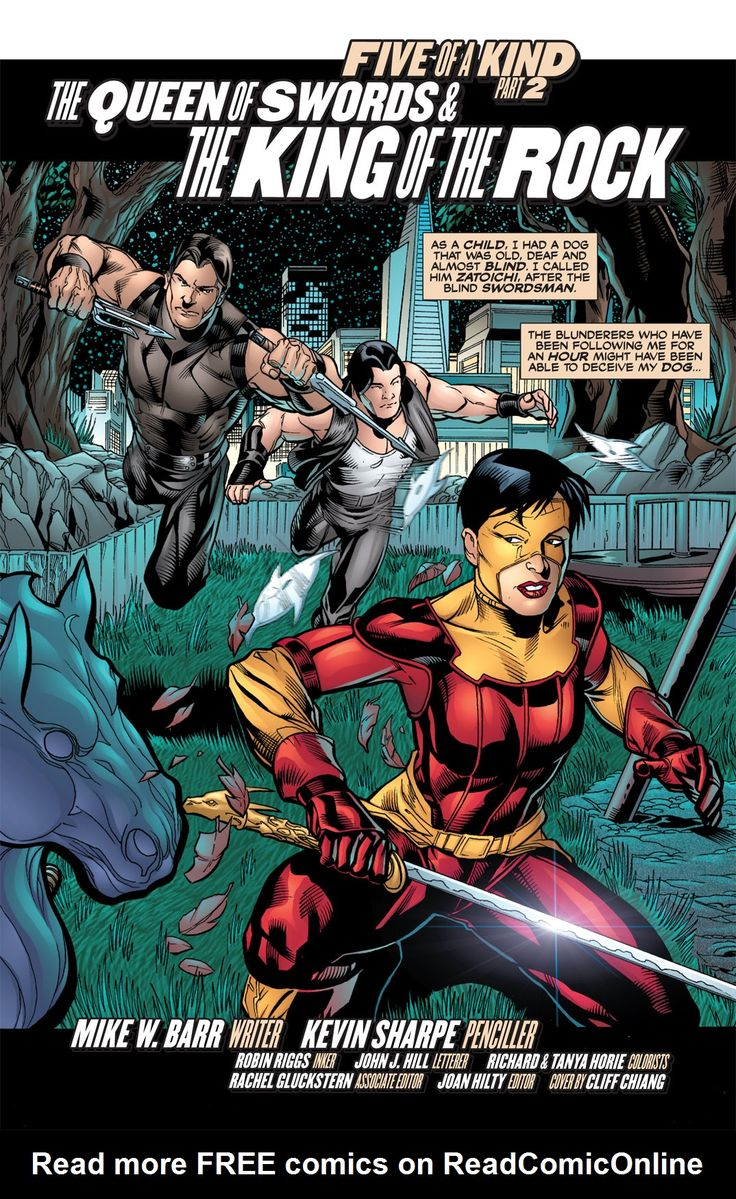 Outsiders: Five of a Kind Issue Katana-Shazam - Read Outsiders: Five of a Kind Issue Katana-Shazam comic online in high quality
