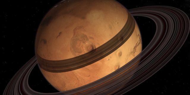 Marte in un futuro prossimo avrà gli anelli!
