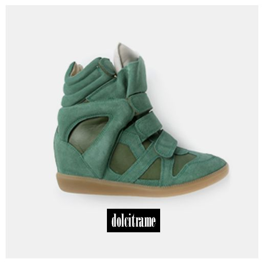 Isabel Martant 'beckett' hi-top trainer  #isabelmarant #isabelmarantsneakers #ss14 #newin #shoes #shoesaddicted #newarrivals #newcollection #fashion #ootd #womenswear #womenstyle #dolcitrame