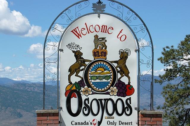 Welcome to #Osoyoos. #Okanagan
