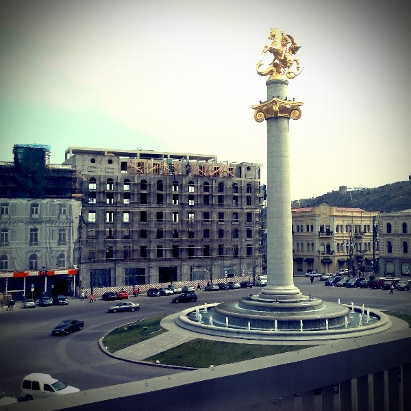 Liberty Square, Tbilisi.