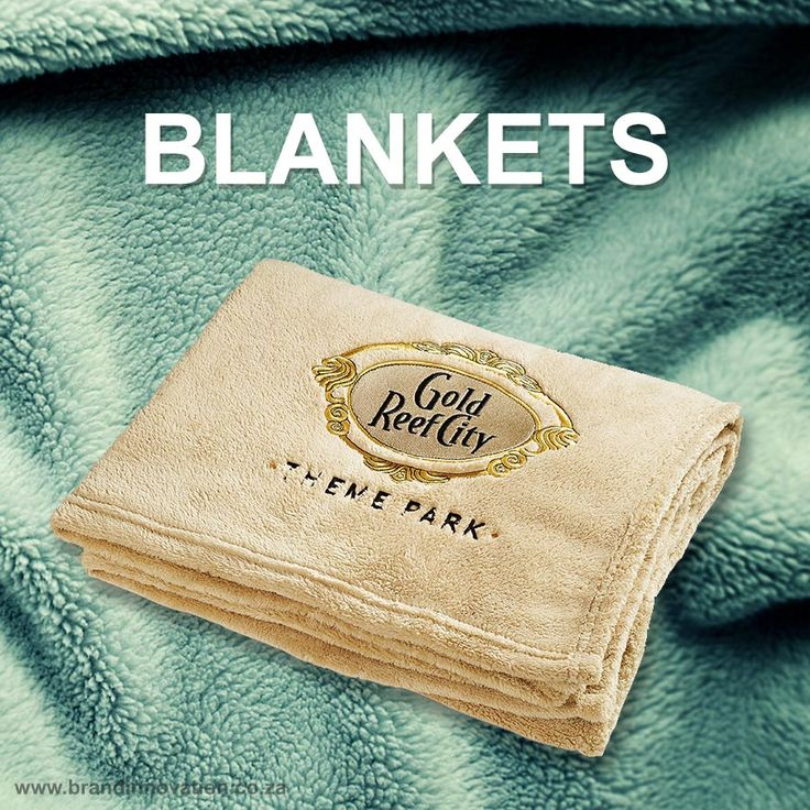 Branded Blankets South Africa, Custom Blankets Suppliers Johannesburg, Cape Town and Durban