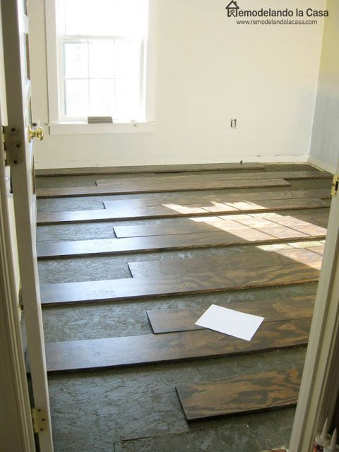 Complete Tutorial On Installing Wide Plank Plywood Floors. Quite A Project!