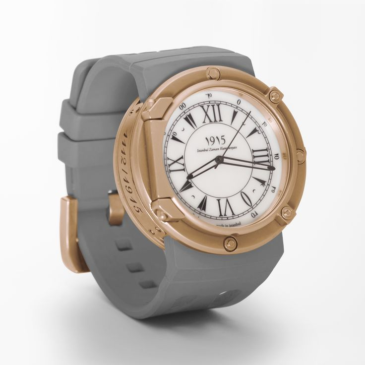 pechora grey in bronze case