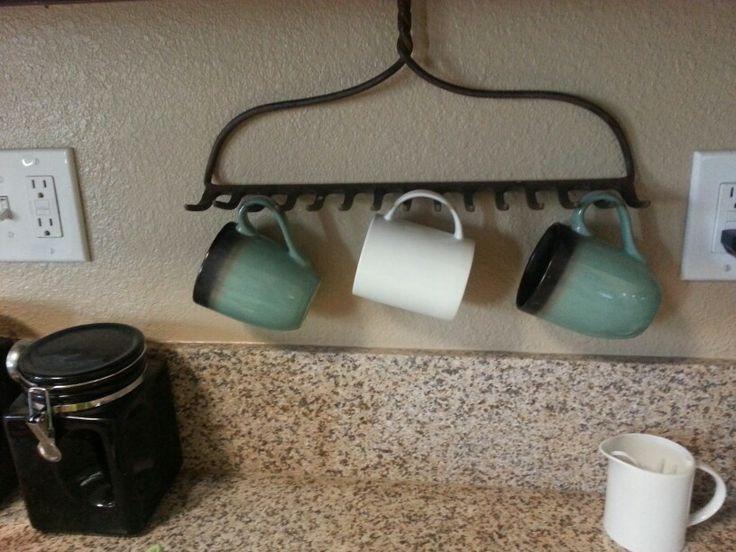 rake head coffee cup holder