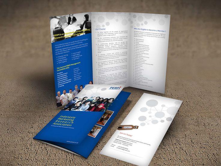 Desain Brosur Perhimpunan Riset Pemasaran Indonesia (PERPI) oleh www.SimpleStudioOnline.com | Order desain brosur profesional >> WA : 0813-8650-8696
