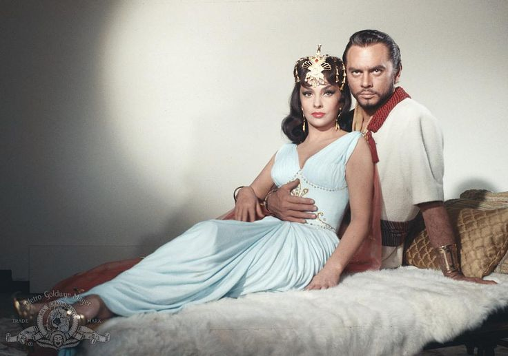 Still Of Yul Brynner And Gina Lollobrigida In Solomon And Sheba (1959 ...
