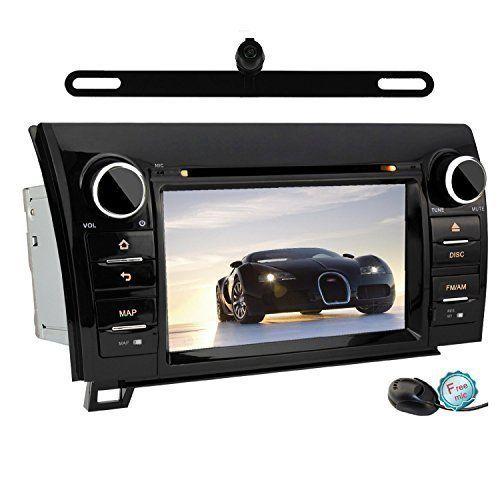 "YINUO QUAD CORE 16GB 1024600 Android 4.4.4 7"" Double Din Touch Screen In Dash GPS Navigation Car DVD Player Stereo for 2007-2013 Toyota Tundra/ 2008-2013 Toyota Sequoia Rear View Cam Included - https://www.caraccessoriesonlinemarket.com/yinuo-quad-core-16gb-1024600-android-4-4-4-7-double-din-touch-screen-in-dash-gps-navigation-car-dvd-player-stereo-for-2007-2013-toyota-tundra-2008-2013-toyota-sequoia-rear-view-cam-included/  #1024600, #16GB, #20072013, #20082013, #444, #And"
