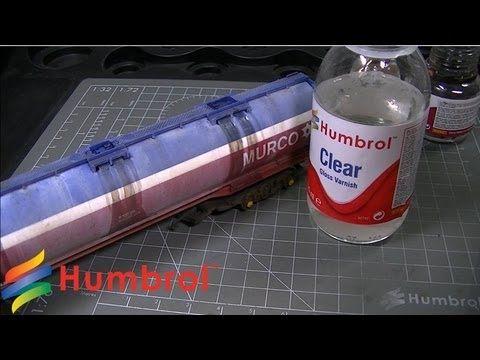 Humbrol - Weathering Powder - Rolling Stock - YouTube