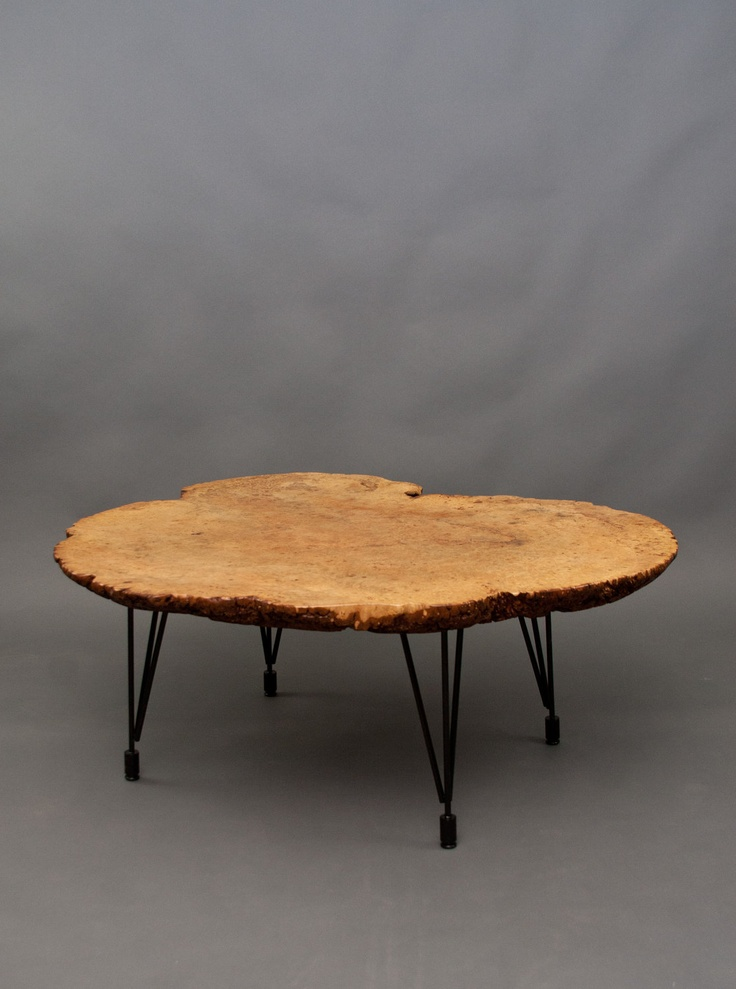 loreto maple burl round coffee table reclaimed live edge natural unique. Black Bedroom Furniture Sets. Home Design Ideas
