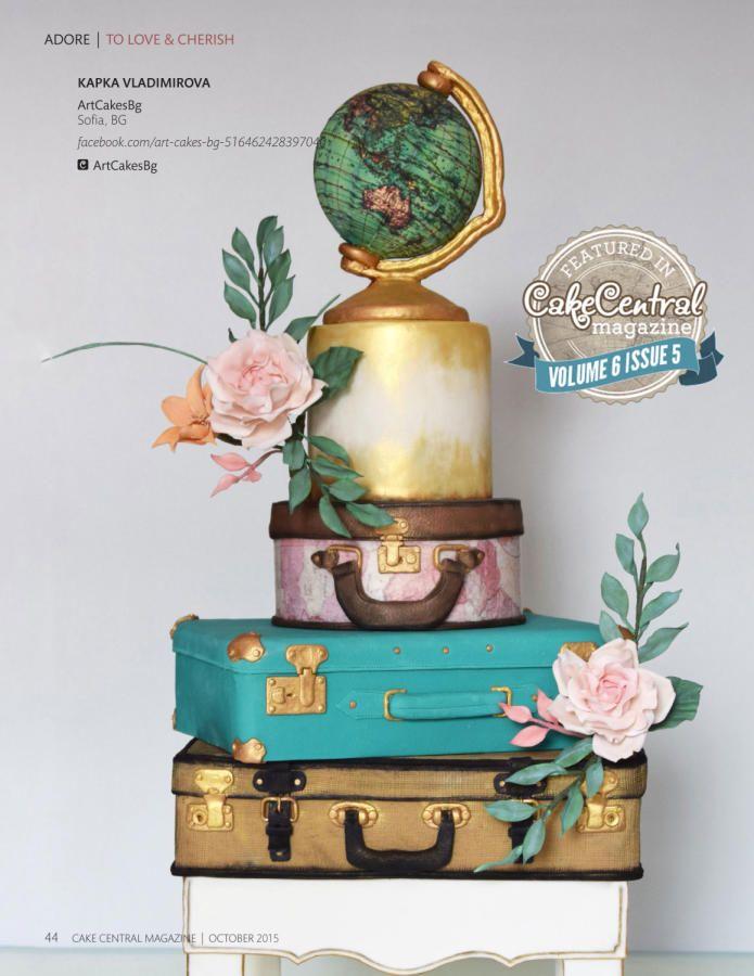Cake Central Cake by Kapka Vladimirova