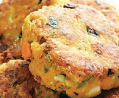 Recipe Vegetarian (Chickpea) Rissoles by CheleN - Recipe of category Main dishes - vegetarian