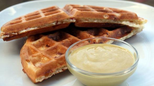 waffle mix waffle iron making waffles waffle recipes ham and cheese ...
