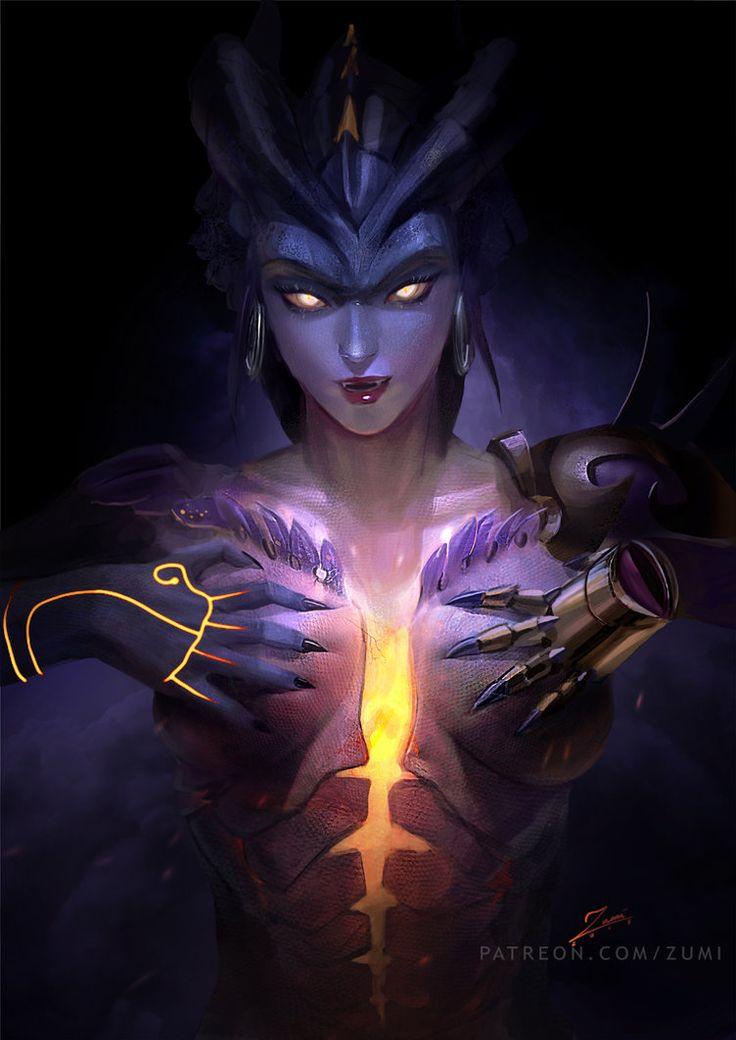 Dragon Symmetra by zumidraws