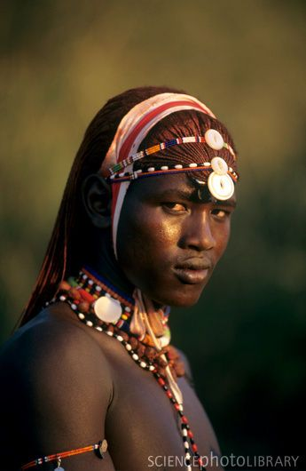 Masai tribe of Kenya.  I think they are some of the most beautiful people on Earth. ( I have to agree)