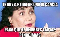 Cuando alguien te esté mintiendo: | 17 Memes de Carmen Salinas que puedes usar para cualquier ocasión