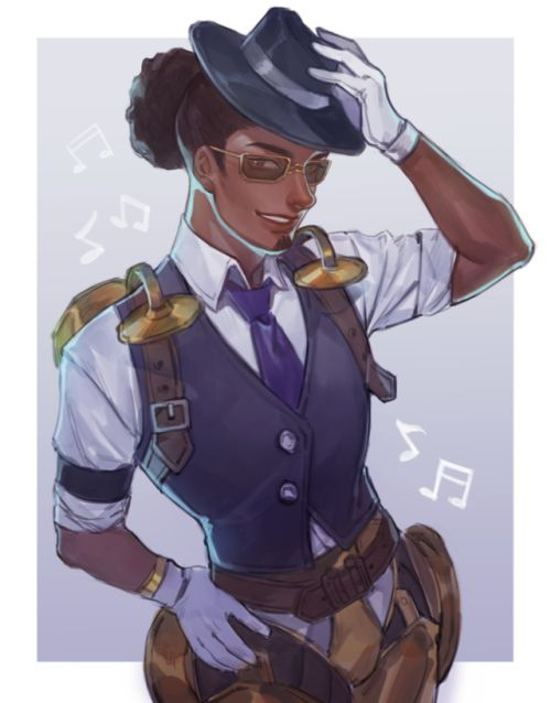 Lucio's new skin is really awesome, i love the artwork ♥