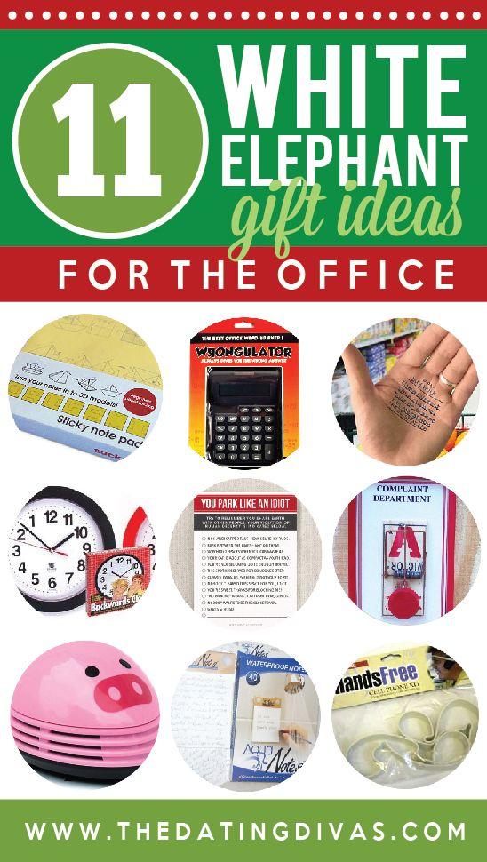 11 White Elephant Gifts for Work