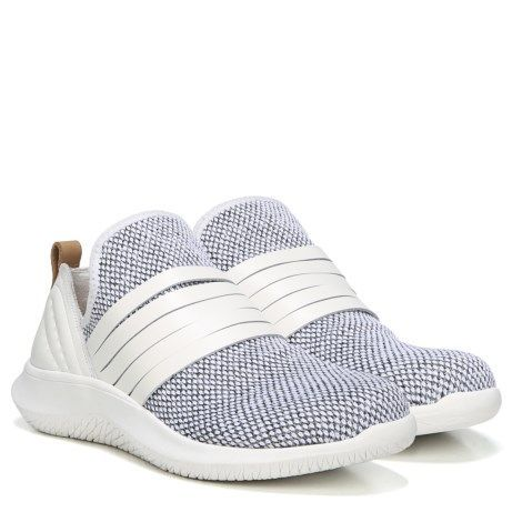 Style and function go hand-in-hand with this must-have slip-on sneaker. An unlined stretchy sock-like fit makes this style incredibly comfortable, perfect for all day wear.Engineered knit upperAlmond toeLeather strap detailing across footBack pull tabBE FREE Energy Technology – insole with 3 distinct zones, designed for maximum comfortDEFENDER Repellant Systems® - Protects your shoe from all types of water, oil and other stainsHILLO – heel cushions designed to reduce slip and improve