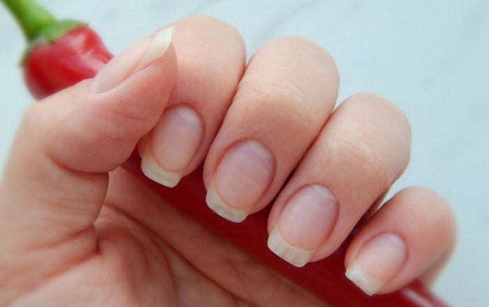 Красный перец помогает отрастить ногти