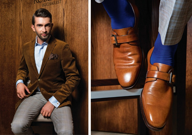 Brown Casual Day Jacket  Brown Shoes