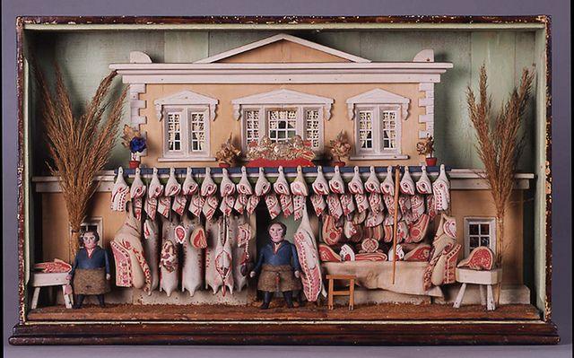 Butcher's Shop  Compton Verney Warwickshire