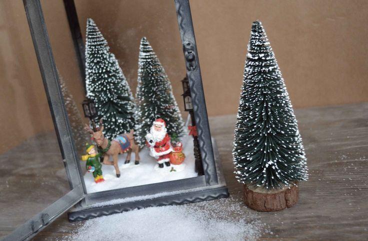 DIY lanterne du Père Noël