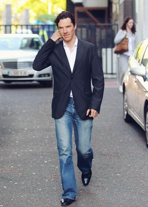 Benedict + Jeans = Supernova Hot : Cumberbitches