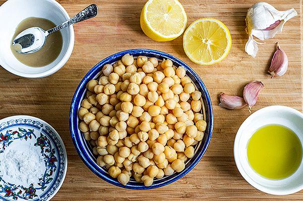 six ingredient hummus recipe #jamieoliver